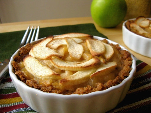 No-Sugar-Added Apple Tartlet