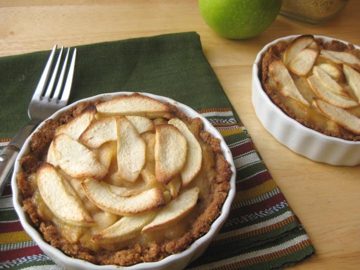 No-Sugar-Added Apple Tartlets