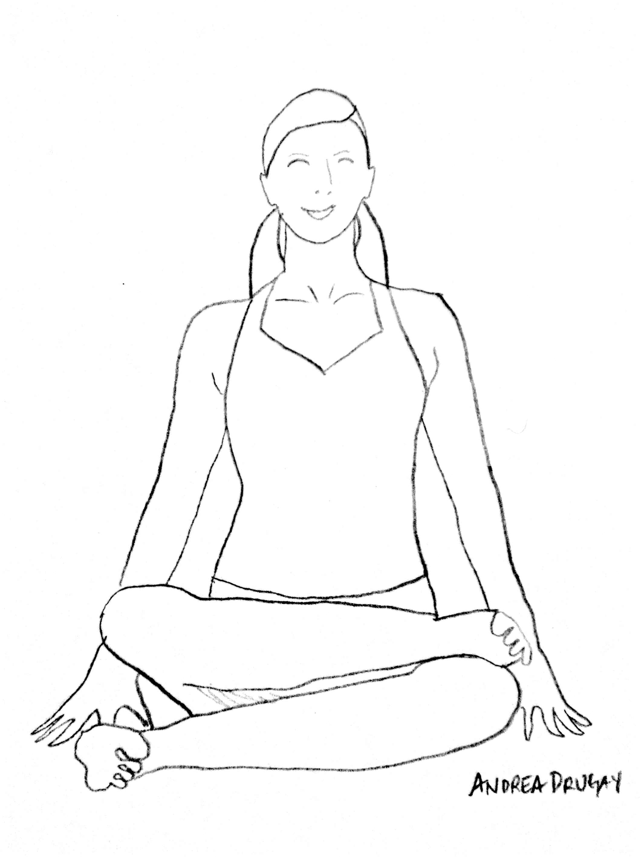 Yoga Poses For Your It Band Andrea Drugay