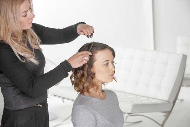 how to get volumized curls for fine hair