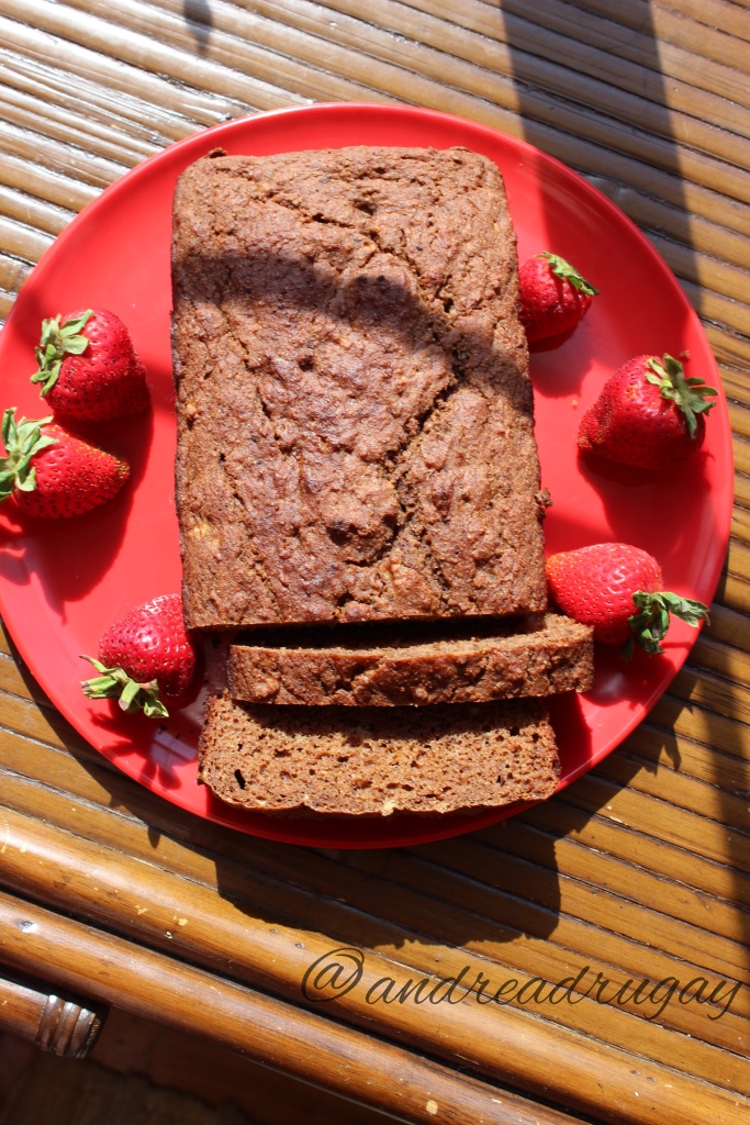 No-Sugar-Added Chocolate Banana Bread