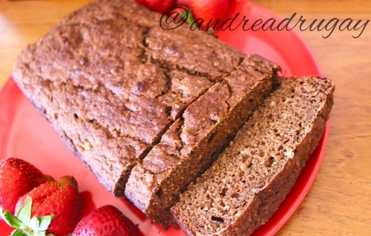 No-Sugar-Added Chocolate Banana Bread