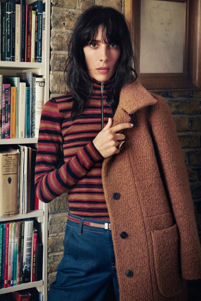 Jamie Bochert for Karen Millen