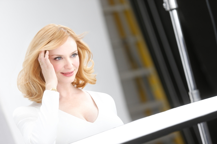 Christina Hendricks for Clairol